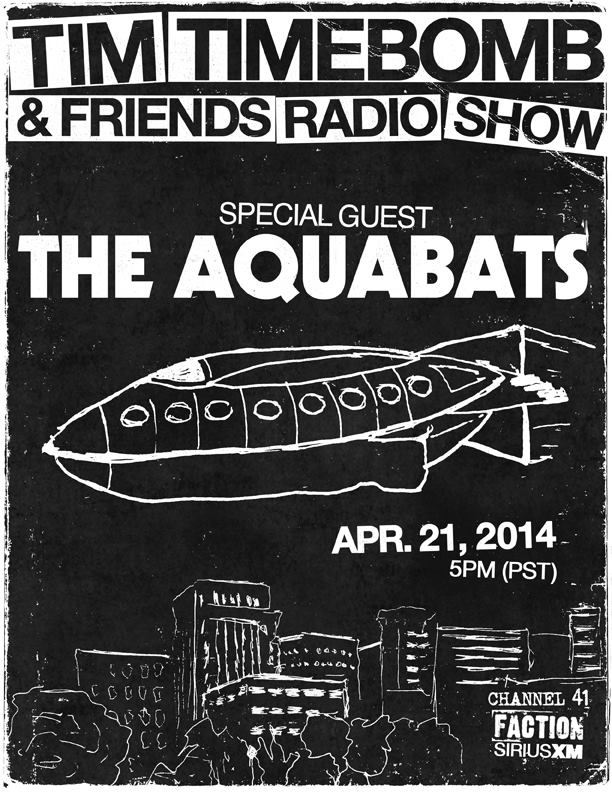 The Aquabats - XM Radio