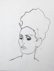 68.woman-on-paper_14X18